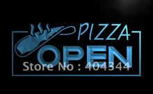 LB026- OPEN Pizza Restaurant Displays   LED Neon Light Sign     home decor shop crafts