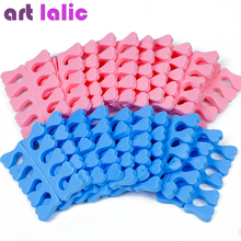 20pcs (10 pairs) EVA foam toe separator Soft foam Nail Tools Toe Finger Separator feet care braces & supports nails tools