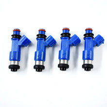 4x OEM For Denso Dark Blue 565cc Fuel Injectors 16611-AA720 For Subaru WRX / STI Free Shipping