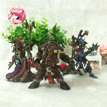 WOW Model Tauren Shaman Jungle Troll Priest Action Figures Classic Game Toys Model Birthday gift For Boys(China)