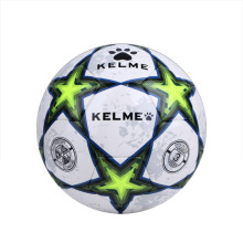 KELME Top Grade Size 4 Size 5 Soccer Ball Anti-slip PU Slip-Resistant Standard Match Training Competition Football 08(China)