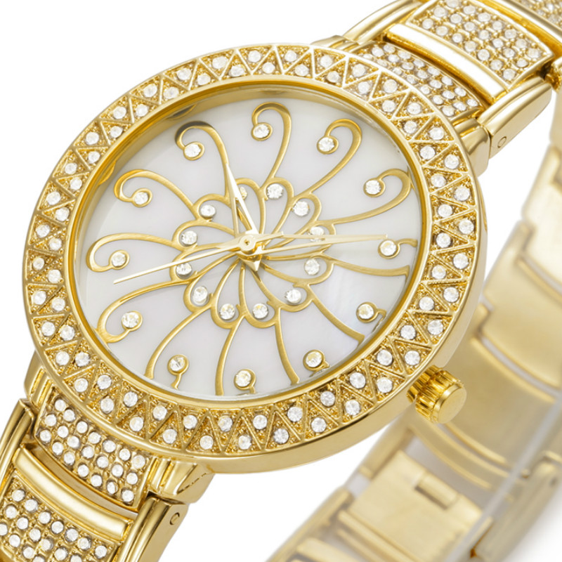 BELBI Relogio Feminino Watches Foding Closp with Safety Ladies Watches Stainless Steel Quartz-Watches<br>