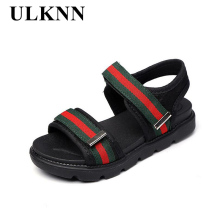 ULKNN 2017 summer new children's shoes boy sandals girls leisure open-toed sandals outdoor beach shoes wading shoes