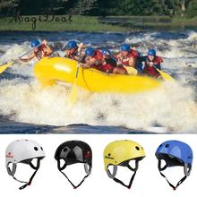 MagiDeal New Adjustable Rafting Helmet Kayaking Driftting Water Sport Safety Helmet Protection Equipment With CE Certification