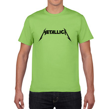 Grade A rock tee shirt James Hetfield t shirt Metallica heavy metal music Thrash Metal t shirt short sleeve band men women tees