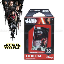 New Fujifilm Instax Mini 8 Film Star Wars 10 Sheets For 8 50s 7s 90 25 Instax Mini Camera & Share Smartphone Printer SP-1 SP-2