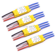 New 30A Brushless 450 helicopter multicopter Motor Speed Controller RC ESC 4pcs