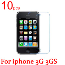 10pcs glossy/Matte/Nano anti-Explosion LCD Screen Protector Film Cover For iphone 4 4S 5 5S SE 5C 3G 3GS Protective Film+cloth