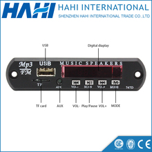 MP3 Decoder Board Module Amplifier Decoding Audio Player MP3 WAV U Disk & TF Mini USB Radio mp3 Decoder Board