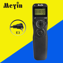 MEYIN Shutter Release TW-830/E3 LCD Timer Intervalometer Remote Shutter Cable E3 For Canon PowerShot  Pentax Samsung Contax