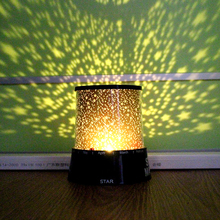 2016 Fashion Novelty Starry Star Sky Projector Master Stars Night Light LED Romantic Gift Nightlights Christmas Lights Lamparas