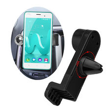 360 Degree Portable Car Air Vent Holder for Wiko Sunny, Fever Special Edition, U Feel, U Feel Lite, Lenny 3 Phone Car Trestle