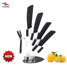 "FINDKING Brand New Arrival 3"" 4"" 5"" 6"" inch + Peeler Ceramic Knife Top Quality Kitchen Knives Set(China)"