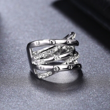 2017 ROXI Elegant Rings Charms Wedding Romantic Multi-ring Mother's Gift Fashion Jewellery TOP Quality Females Ring