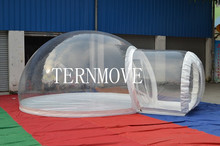 Outdoor inflatable lawn tent/pvc inflatable tent/Inflatable Bubble Camping Tent inflatable tent event(China)