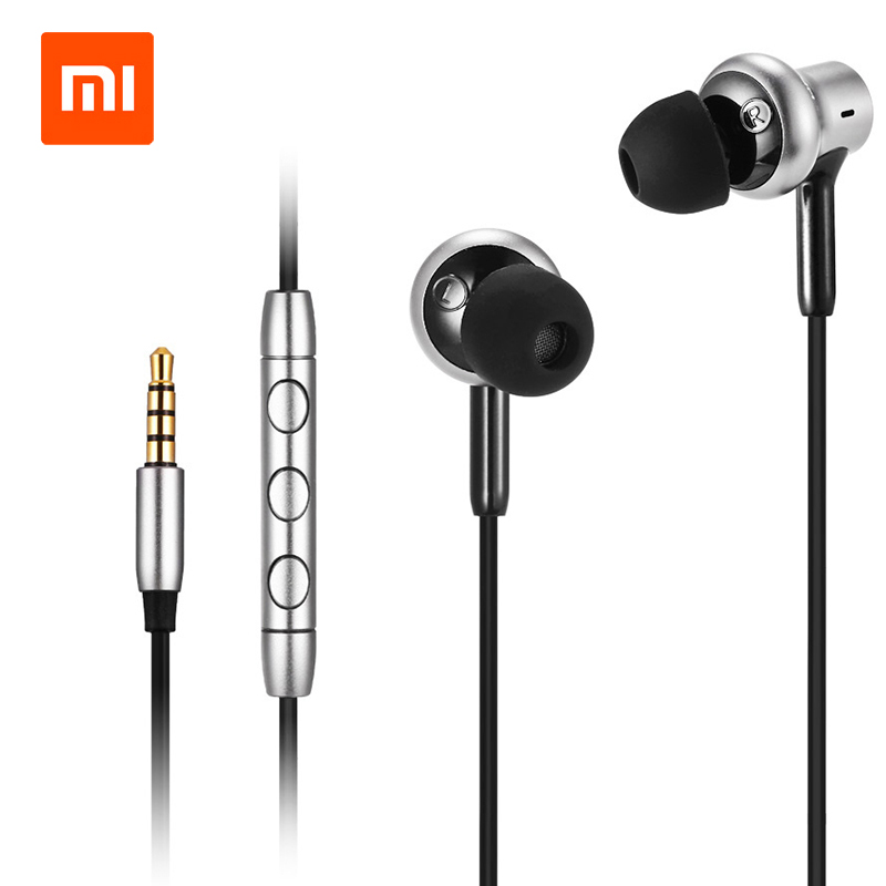 Original Xiaomi Mi Hybrid Pro HD In-ear Earphones with Dynamic Balanced Armature Triple Driver Volume Control  for Mobile Phones<br>