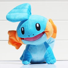 23cm Kawaii Mudkip Plush Toys Stuffed Soft Dolls Open Mouth Anime Brinquedos Great Gift