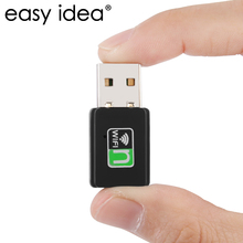 EASYIDEA 300Mbps Wifi Adapter Mini Wireless Lan Network Card 2.4G High Speed USB Wifi Receiver 802.11b/g/n Wifi Dongle Adaptador