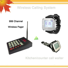 New type catering equipment wireless calling number kitchen call waiter system(China)