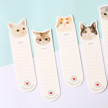 30 pcs/lot DIY Cute Kawaii Paper Bookmark Lovely Cat Book Marks For Books Kids Gift Korean Stationery
