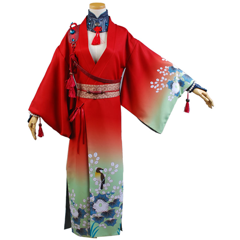 DMMD DRAMAtical Murder Koujaku Kimono Cosplay Costume (2)