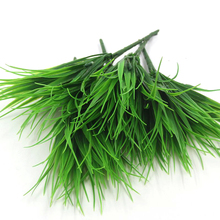 1PCS High Quality Green Grass Artificial Plants For Plastic Flowers For Office / Home Wedding Party Dining Table Decoration