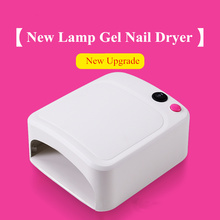Nail Dryer Lamp for Nails 36W UV Lamp Gel Nail Polish Vanish Cure Light Nail Tools Drying Machine 3 Bulb Uf lamp Manicure Equipm