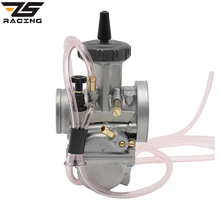 ZS Racing 2pcs/lot Best Quality 33 34 35 36 38 40 42mm Keihin PWK Motorcycle ATV UTV Carburador Motocross Carburetor(China)