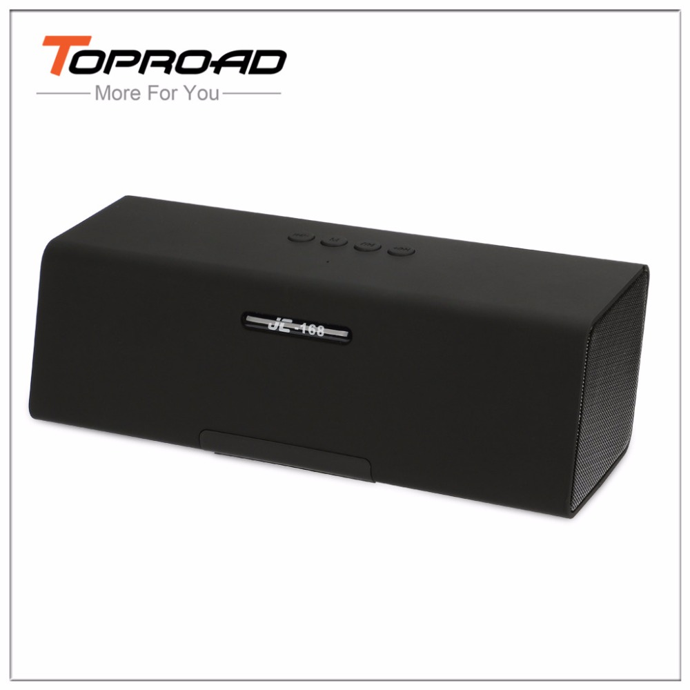 TOPROAD Bluetooth Speaker Portable Active Speakers Wireless BT Music Player Support Handsfree FM Radio TF Altavoz for Smartphone(China (Mainland))