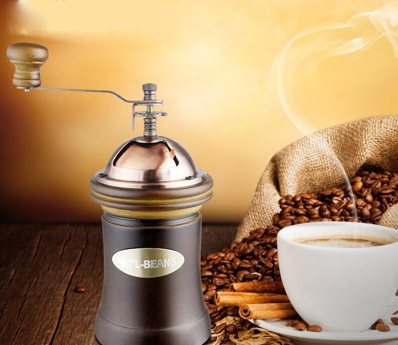 Coffee Bean Grinder Home Handmade Coffee Machine Mill<br>