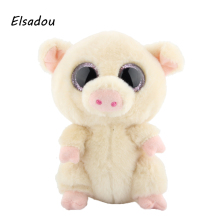 Elsadou Ty Beanie Boos Stuffed & Plush Animals Pig Toy Doll