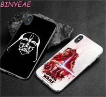 Buy BINYEAE star wars darth vader Style Clear Soft TPU Phone Cases Apple iPhone X 8 7 6 6s Plus 5 5S SE 5C for $1.80 in AliExpress store