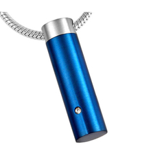 Wholesale Stainless Steel Top Essential Oil Perfume Bottle Ash Holder Pendant Necklace Women Man Free Shipping