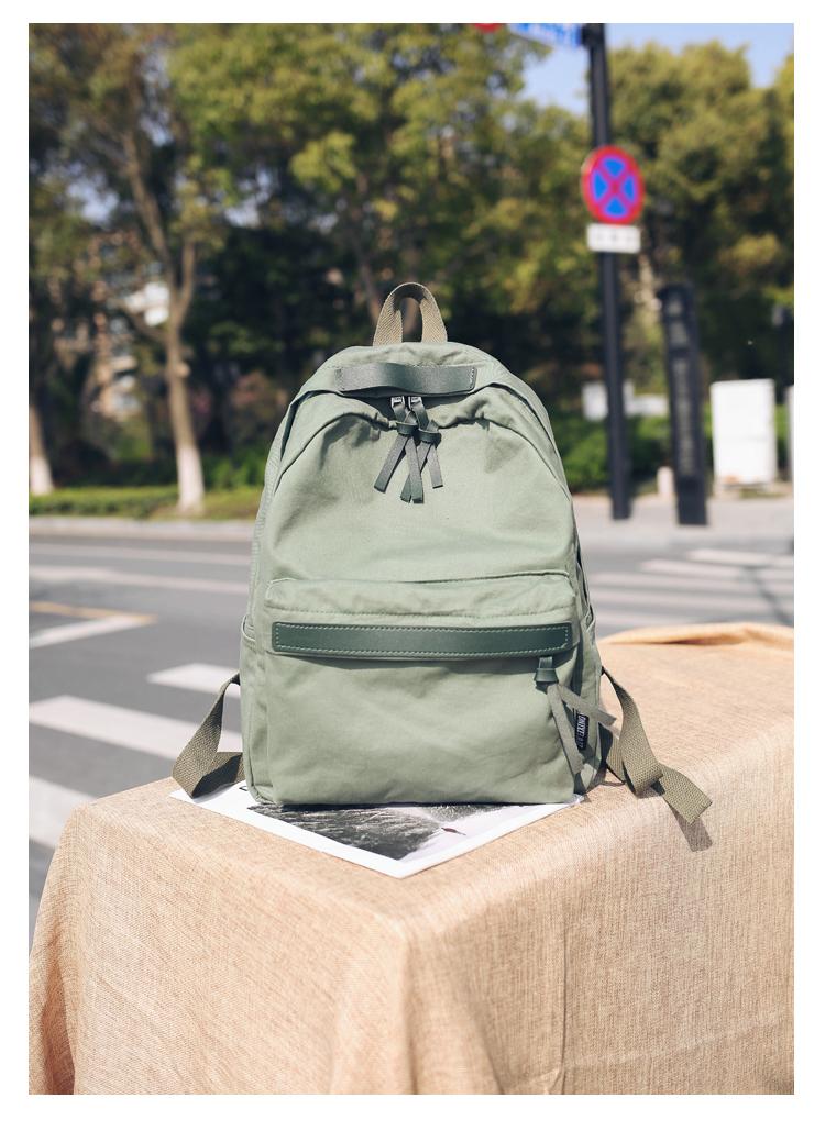 Menghuo High Quality Women Canvas Backpack Teenage Girls Leisure Backpack Bag Vintage Stylish Female School Bag Bookbag Mochilas (15)