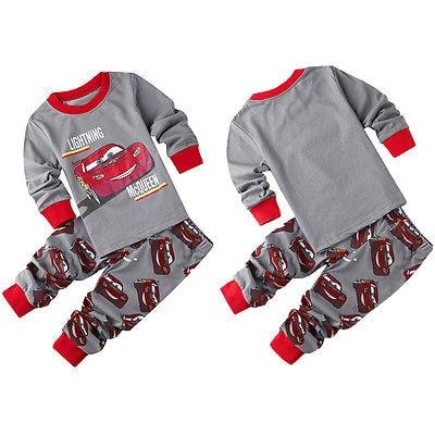 2016 spring autumn baby boys car printed clothes t-shirt + pants cotton suit children set Kids clothing bebe infant clothing<br><br>Aliexpress