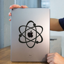 Atom Structure Original Design Tablet PC Laptop Decal Sticker for iPad 1/2/3/4/Air/mini/Pro Vinyl Notebook Sticker Skin