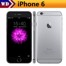 Original iPhone 6 Factory Unlocked IOS Smartphones 4.7 inch Touch Sreen Dual Core LTE WIFI Bluetooth 8.0MP Camera(China)