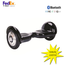 China Dropship Balance scooter Remote Control 2 Wheels 10inch Off-Road hoverboard electric scooter Bluetooth