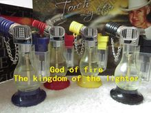 Factory price  butane cohiba cigar Kitchen Lighters Perfume bottles, butane torch lighters jet flame
