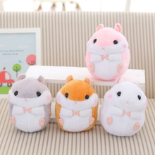 Interactive Stuffed Animal Mouse Plush Toy Soft Toys For Girls Valentine Gifts Pillow Doll Stuffed Hamster Plush Mini 70C0552(China)