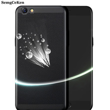 SemgCeKen Luxury Case For VIVO X9 X 9 Original Gold Black Ultra Thin Hard Mobile Phone Back Cover Coque For BBK VIVO X9(China)
