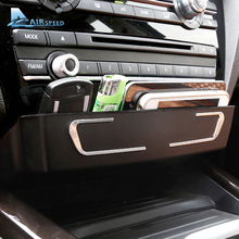 Airspeed Center Console Storage box for BMW F30 F34 F3GT 4 series X3 F25 X4 F26 decoration ABS Car interior accessories(China)