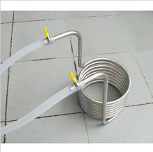 Beer Brew Stainless Steel Coil Tube Heat Exchanger homebrew wort chiller 5 meter length