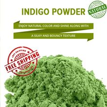 Free Ship NATURAL INDIGO POWDER - 100% ORGANIC AND NATURAL WAY OF COLORING HAIR(China)