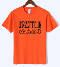 Buy Led Zeppelin Rock Band T Shirt Men 2018 Hot Summer Short Sleeve Round Neck T-Shirt 100% Cotton Punk Fitness Tshirt Men Top Tees for $6.19 in AliExpress store
