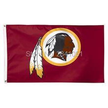 7 Color Washington Redskins Allegiance Team American Outdoor Indoor Football College Flag 3X5 Custom USA Any Hockey Flag