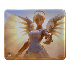 2017 OW Beautiful Mercy Mouse Pad Computer Mousepad Overwatch Large Gaming Mouse Mats To Mouse Gamer Anime Rectangular Mouse Pad