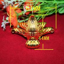 61*44MM Imitation gold furniture feet  Chair  Zinc alloy foot care  Curio feet  Decoration Accessories  Wholesale
