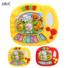 JJR/C Details about  Baby Toddler Musical Educational Animal Farm Piano Music Developmental Kids Toy