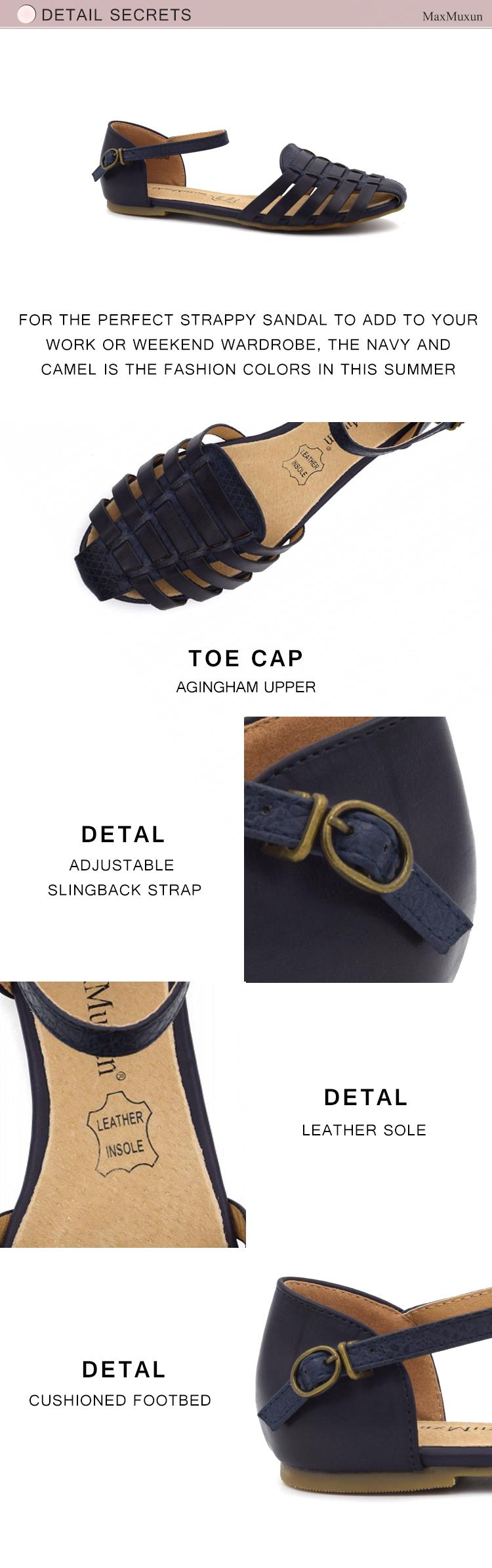 Pruunid või sinised sandaalid